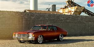 Milner Concave - U561 on Chevrolet Chevelle