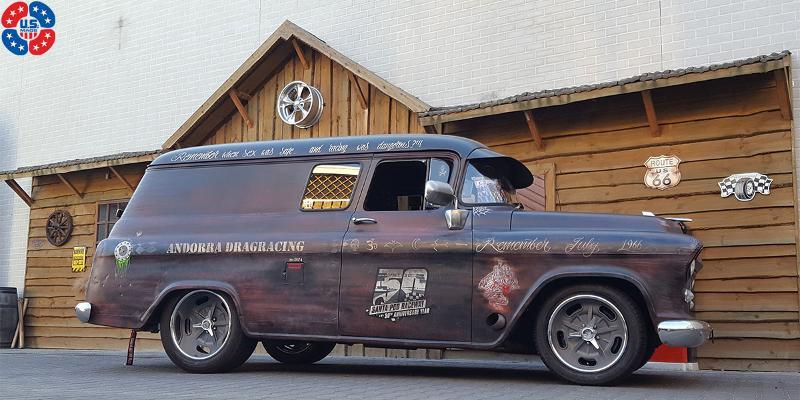 Chevrolet Suburban Vintage Forged Bonneville - U435