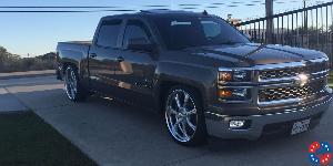 El Rey - U429 on Chevrolet Silverado 1500