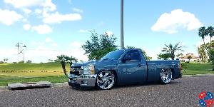 Phantom 6 - U466 on Chevrolet Silverado 1500