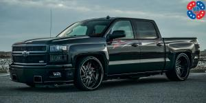 Nemesis 6 - U466 on Chevrolet Silverado 1500