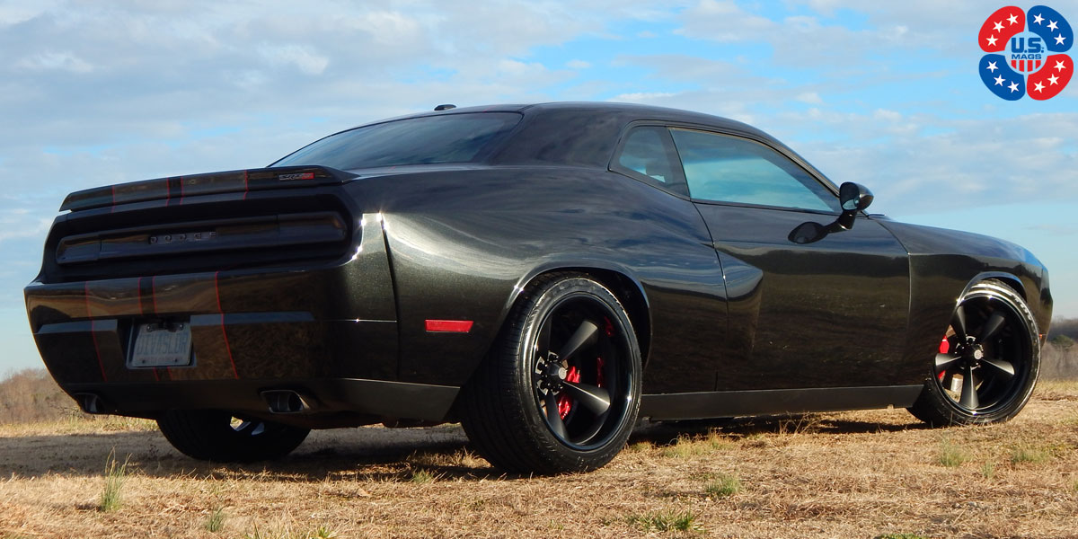 Dodge Challenger Standard Concave U501 Gallery Us Mags