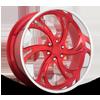 Kompressor 6 - Precision Series Soft Red Candy w/ Polish